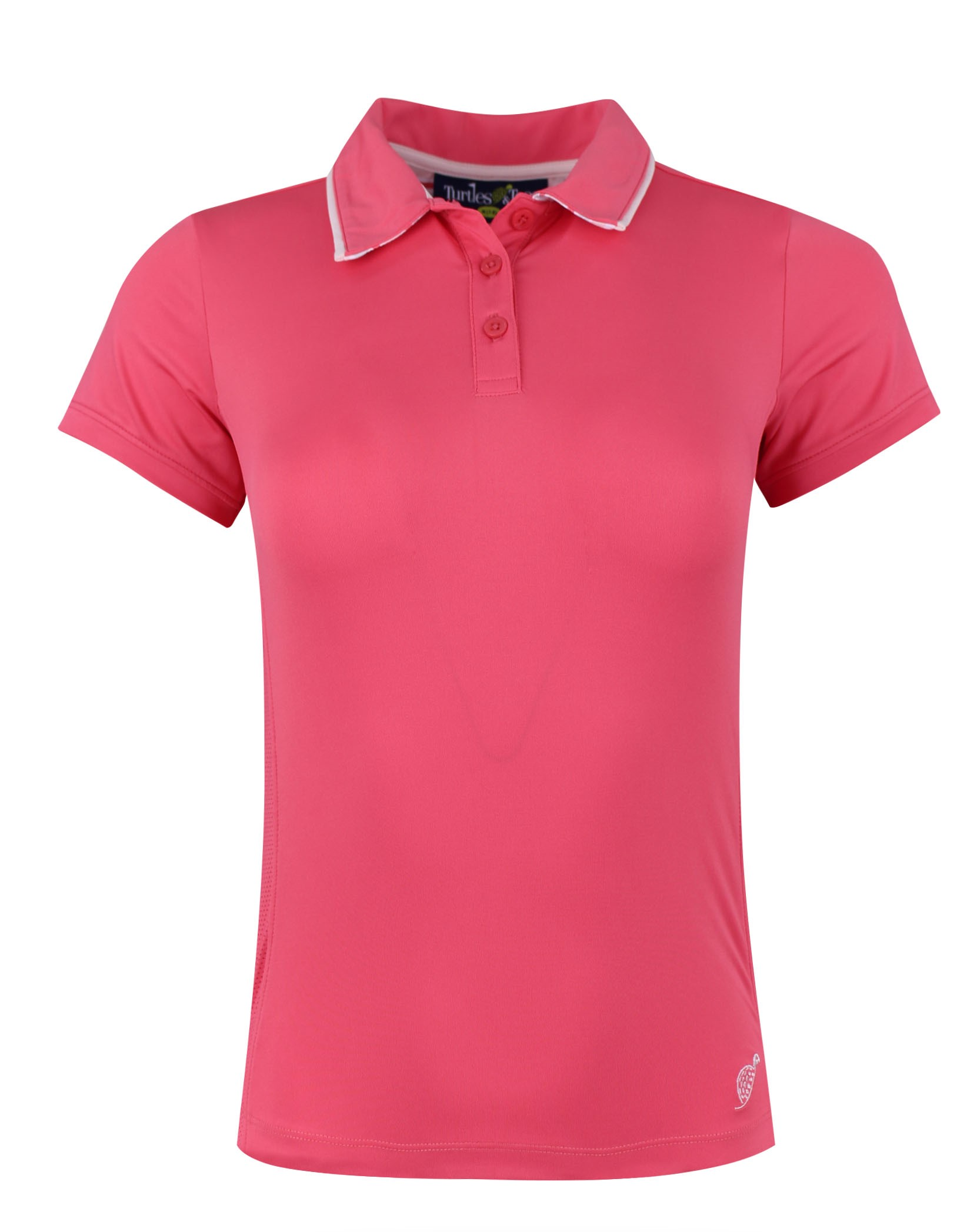 Girl's Cap Sleeve Polo Watermelon