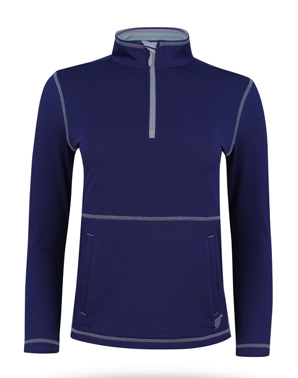 Boy's Paddy Golf and Tennis Pullover in Navy