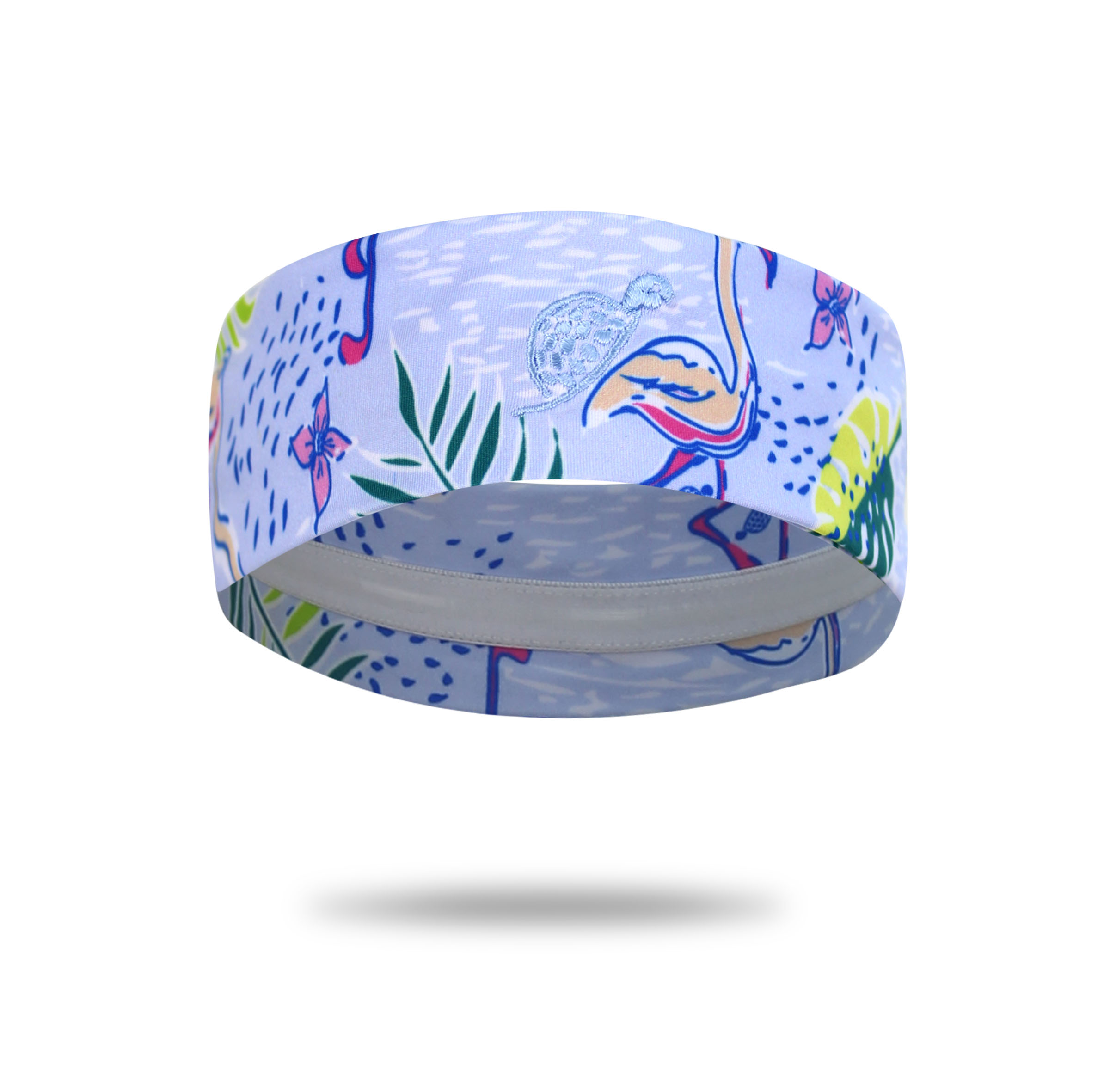 Turtle Headband Flamingo Club