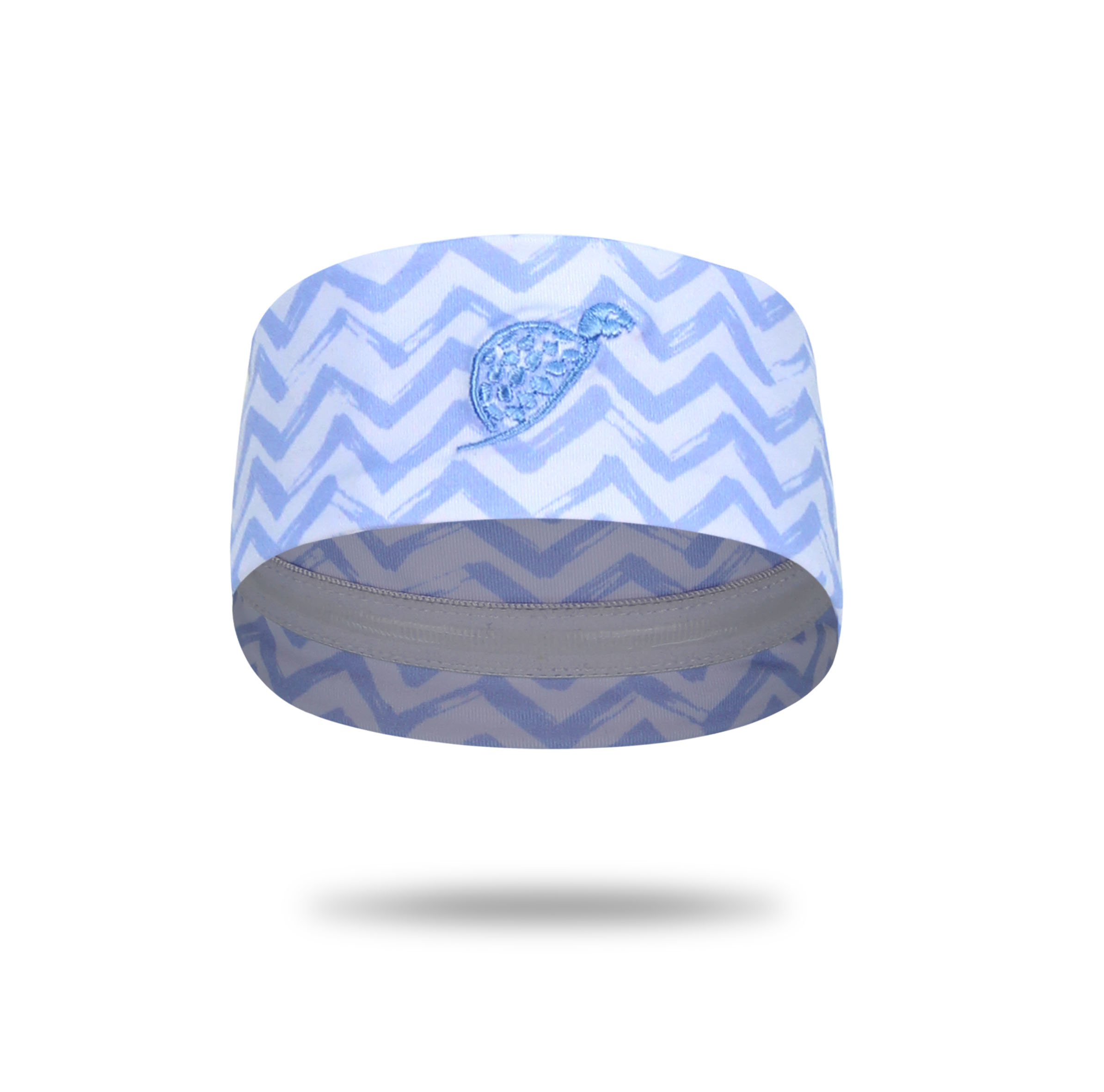 Turtle Headband Blue Waves