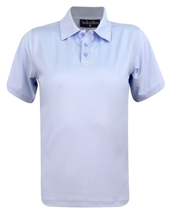 Boy's Polo Shirt Blue Solid