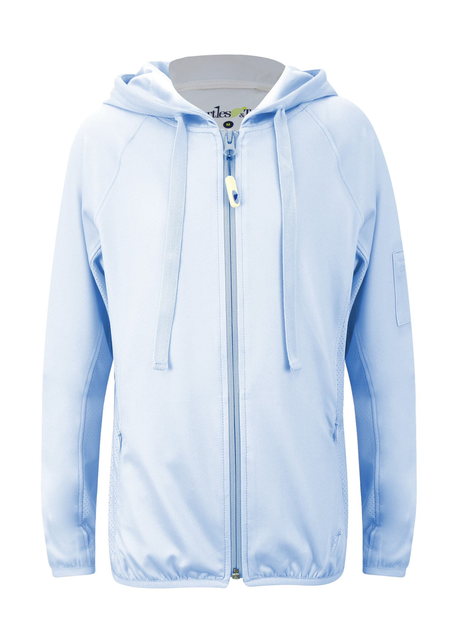 Blakely Girls Full Zip Jacket In Sky Blue