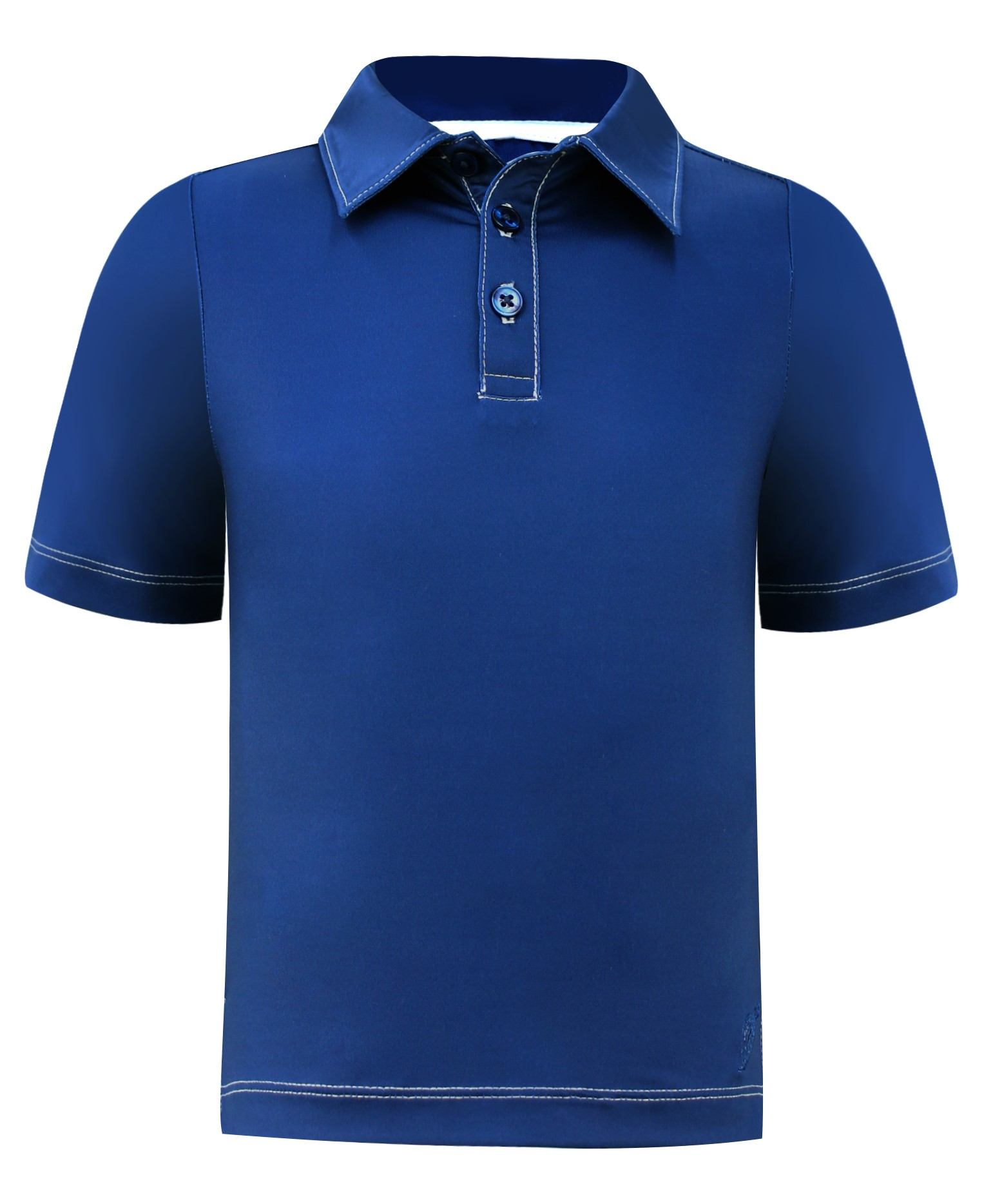 Boys Performance Polo Shirt - Navy