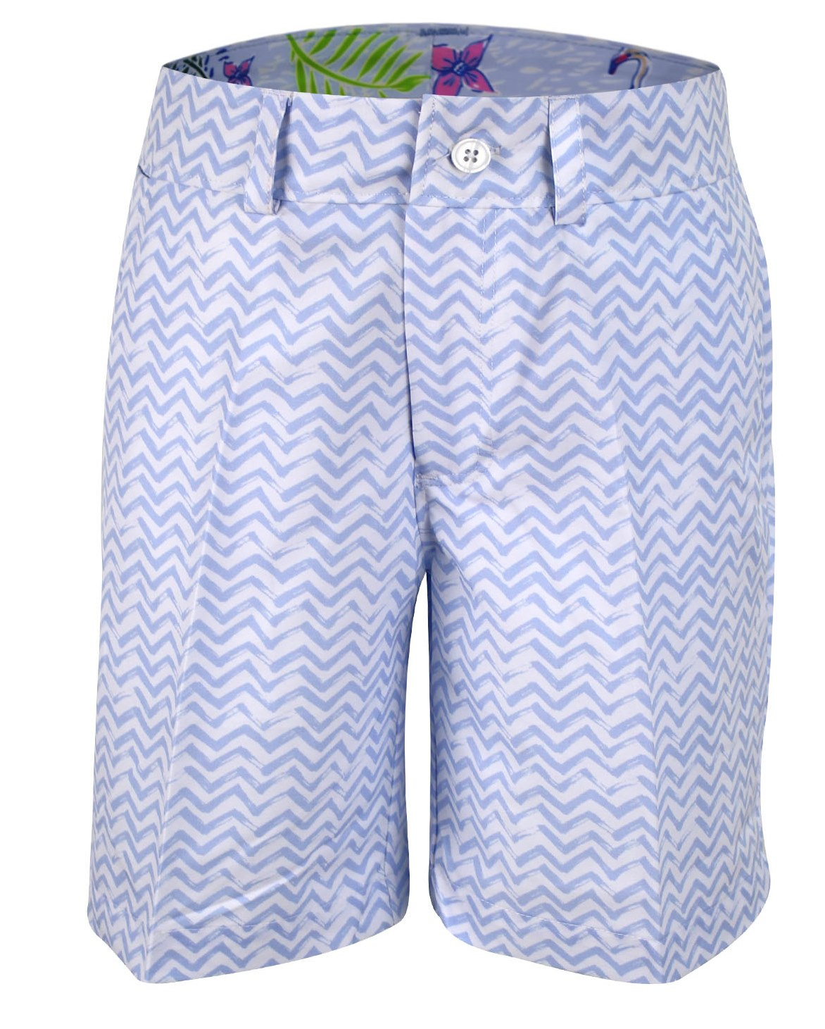 Will Boy's Golf and Tennis Shorts Blue Wave