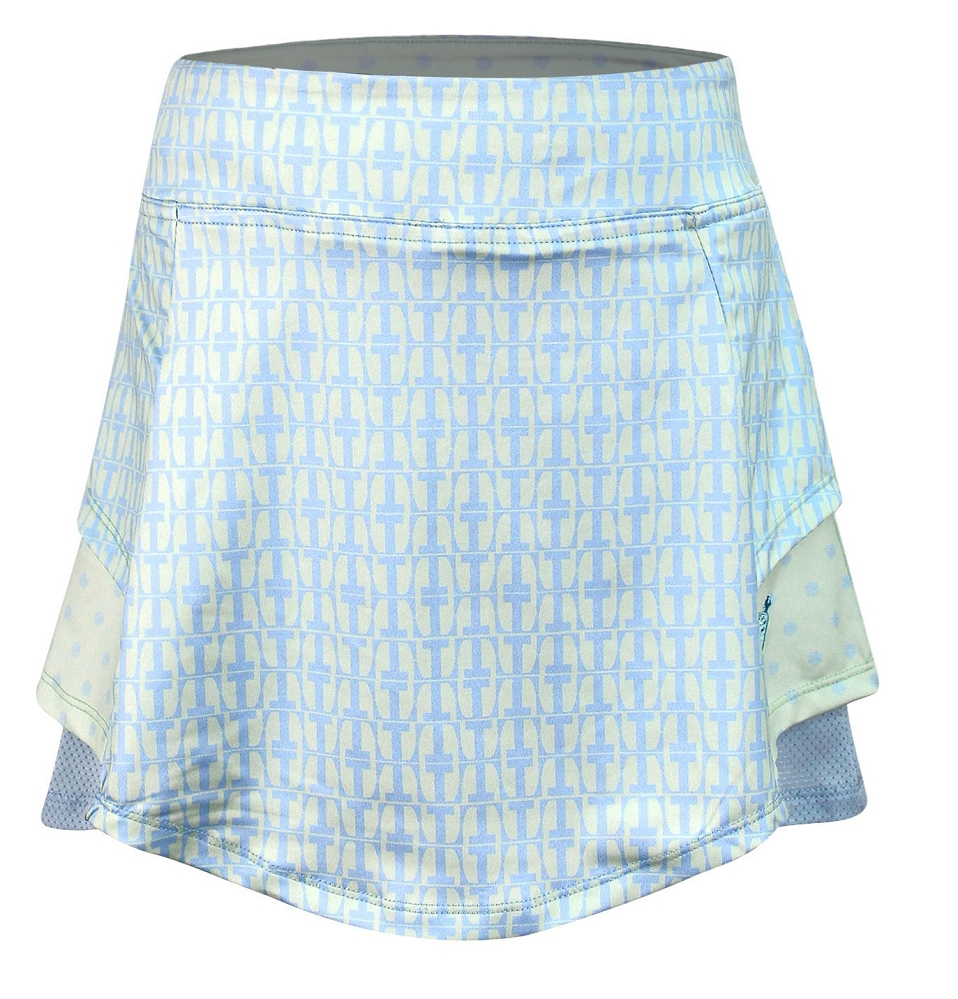 Langdon Golf and Tennis Skort Green On The Tee