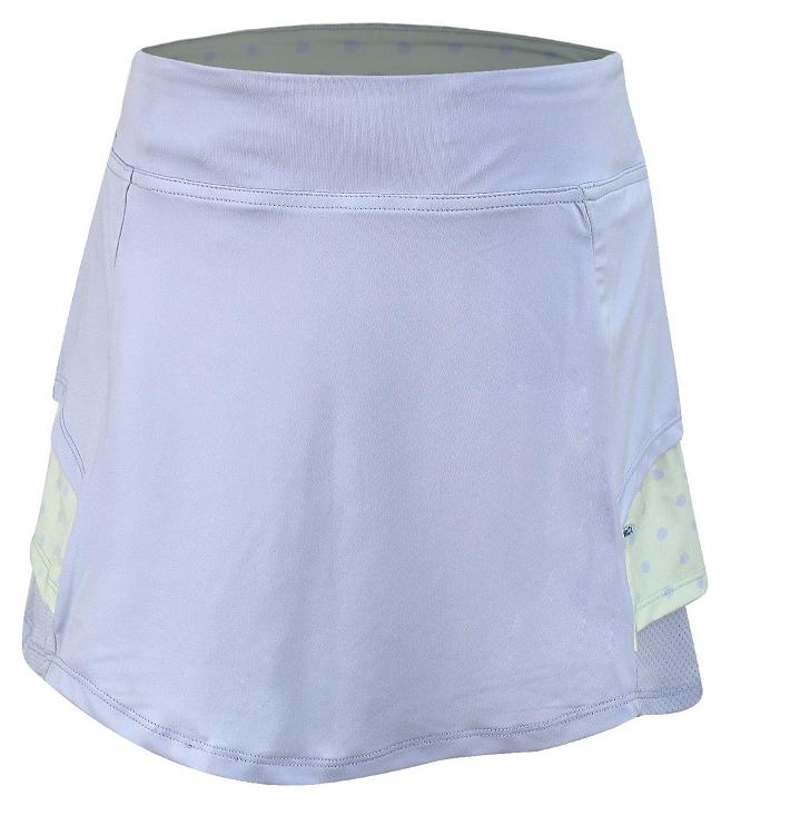 Langdon Golf and Tennis Skort Solid Blue