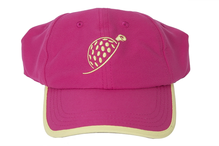 Pink Turtle Cap with Take A Swing Print