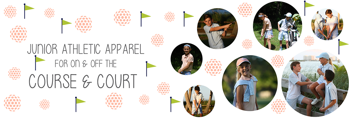 Youth Sports Apparel - Tennis and Golf